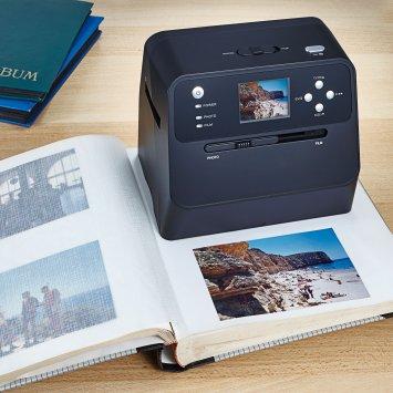 Fotoalbum-scanner