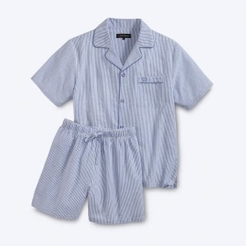 Seersucker-zomerpyjama