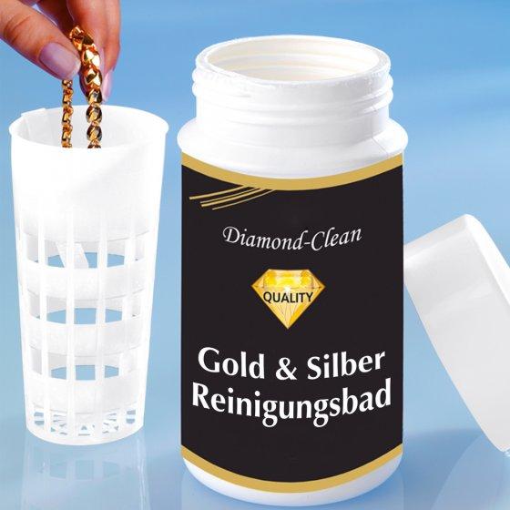 Reinigingsbad voor goud en zilver
