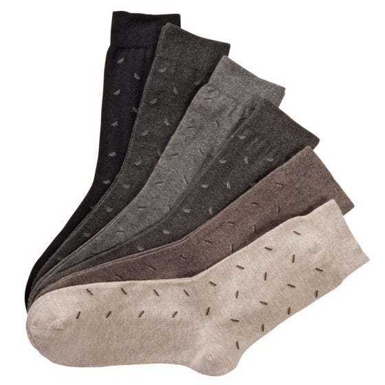 Comfort-sokken met patroontje