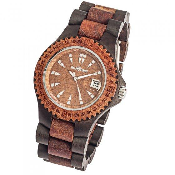 Horloge van sandelhout