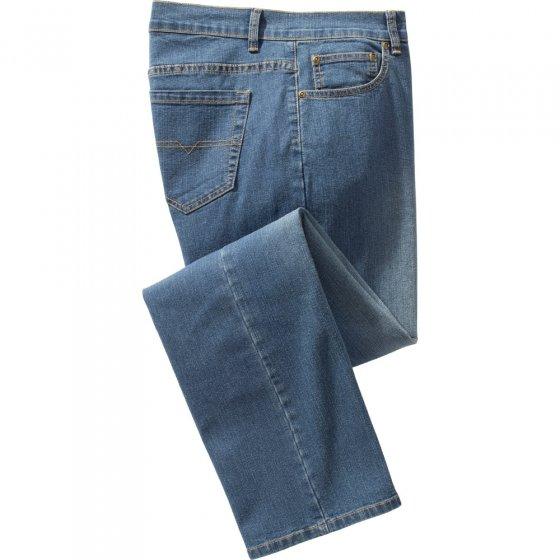 Heren-stretch-jeans,Jeansblauw 30 | Jeansblauw