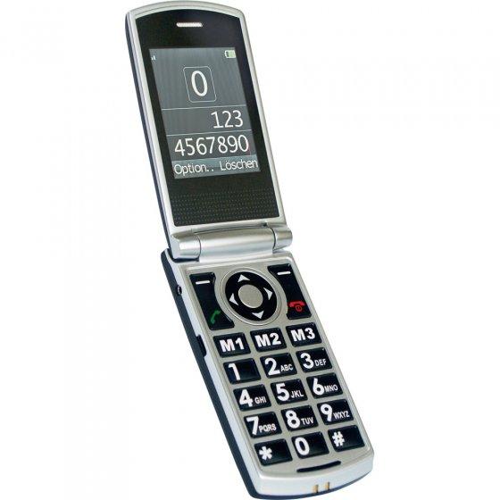 Uitklapbare grote toetsen telefoon