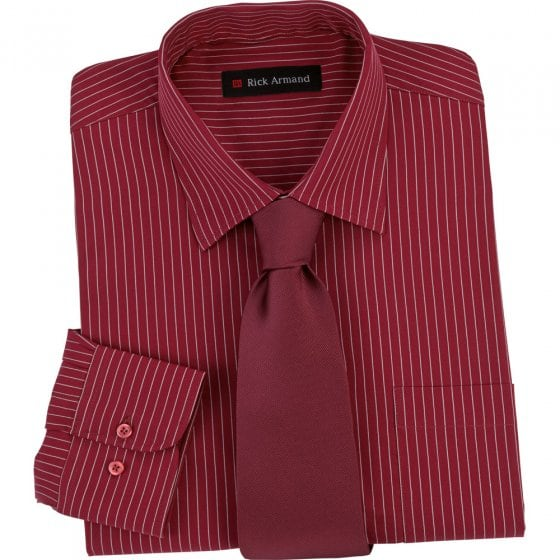 Overhemd met stropdas