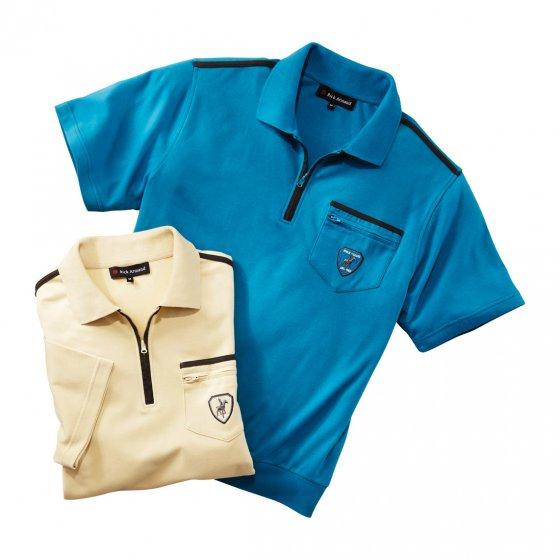 Comfort-interlockshirt Set van 2