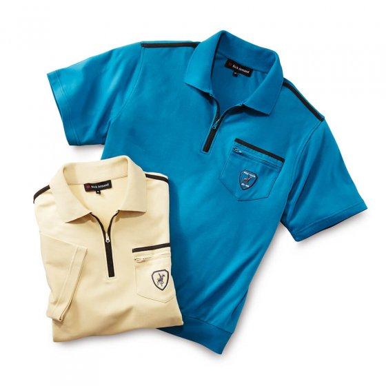 Comfort-interlockshirt L | Set van 2