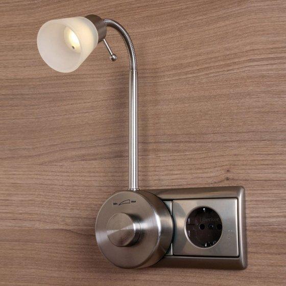 Dimbare led-stopcontactlamp