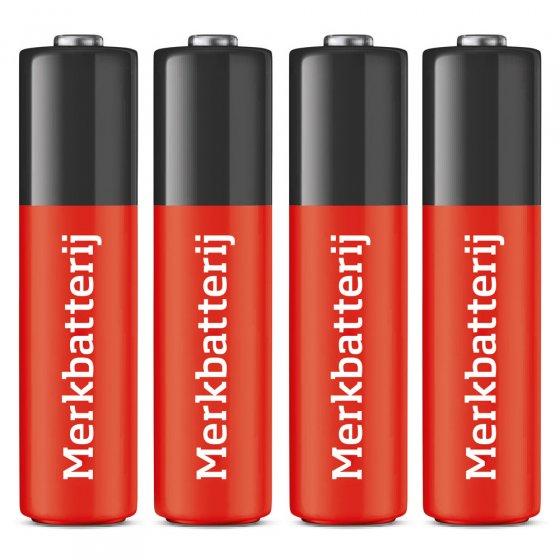 Bijpassende AA-batterijen 4 stuks