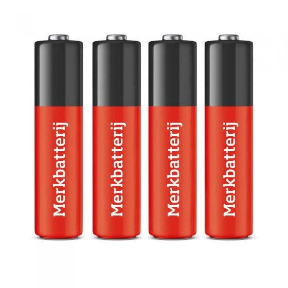 AAA-batterijen, set van 4