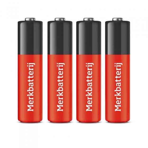 AAA-batterijen,  4 stuks