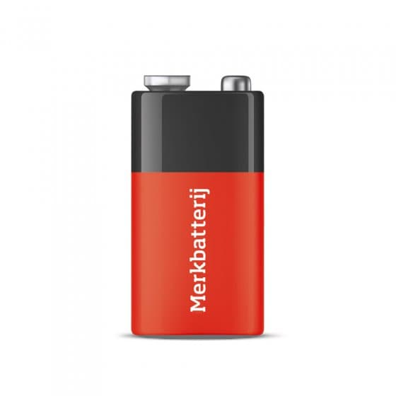 9V-blokbatterij