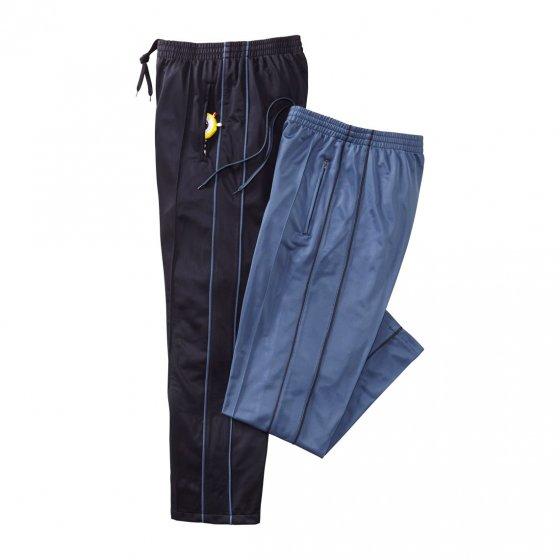 Thermobroeken Set van 2 stuks L | Grijsblauw#Zwart