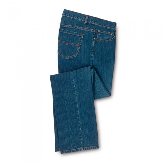 Heren Stretch Jeans,blauw 56 | Blauw