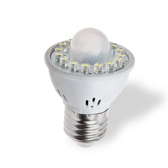 Led-lamp met bewegingssensor