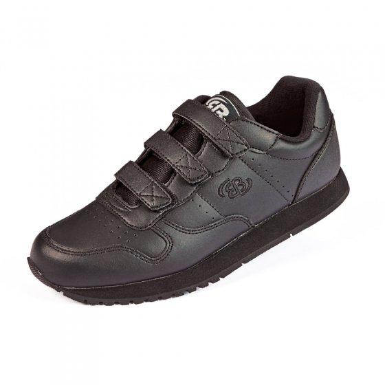 Leren sportschoen,zwart,44 44 | Zwart
