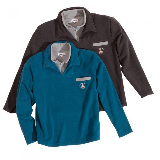 Fleece-sweatshirts in 2-pack