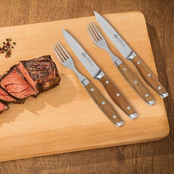 Gourmet-steakbestek '4 Musketeers'