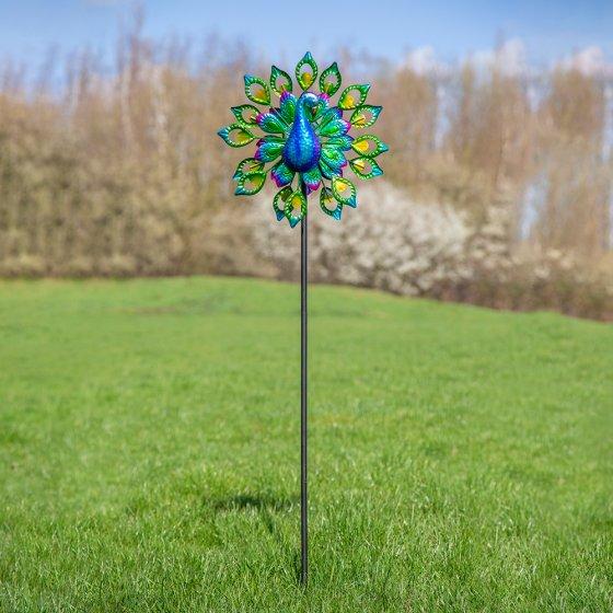Led-windmolen 'Pauw' op zonne-energie