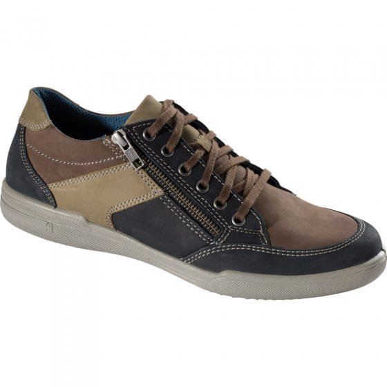 Aircomfort-sneakers,zwart/brui 43 | zwart#bruin