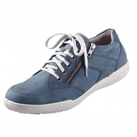 Aircomfort-sneakers met ritssluiting 41 | Blauw