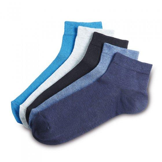 Korte sokken Set van 5 43/46 | Gesorteerd