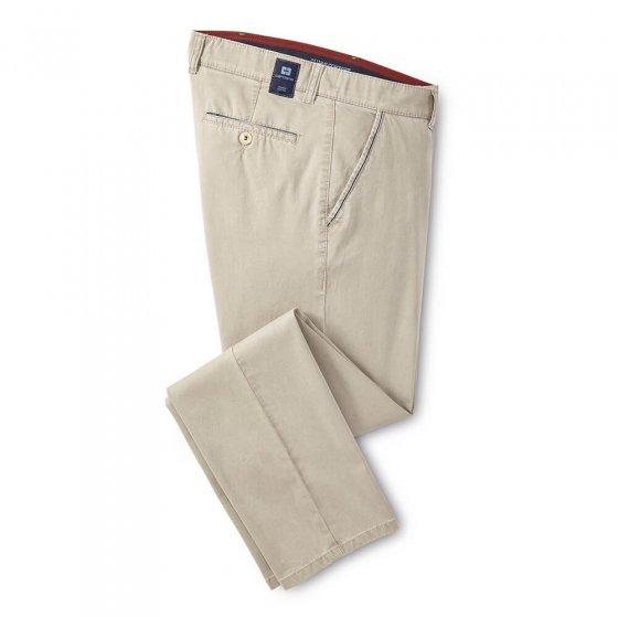High-stretch-broek van katoen
