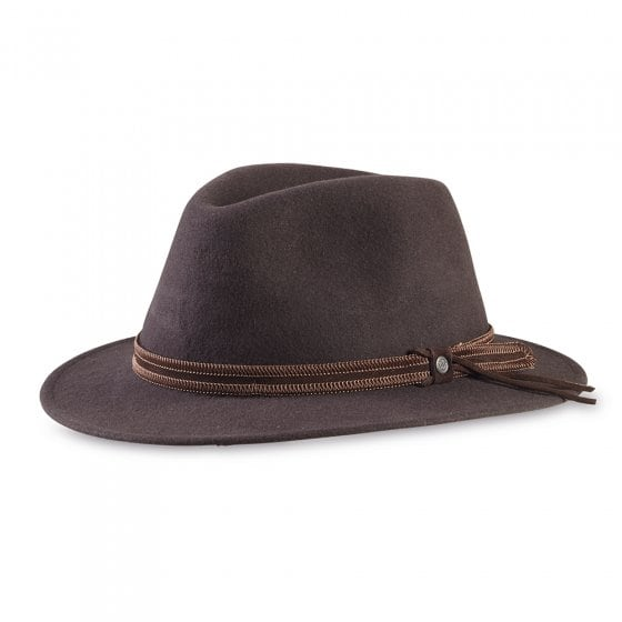 Wollen hoed,Bruin,56/57 57 | Bruin