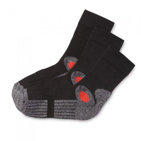 Katoenen activ-sokken 3 stuks
