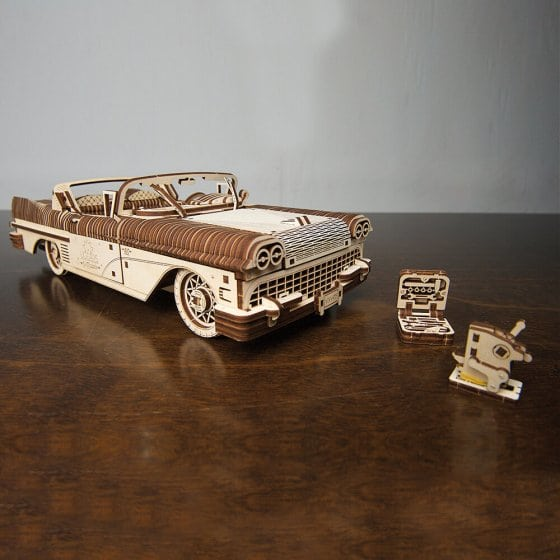 Houten model Cabriolet
