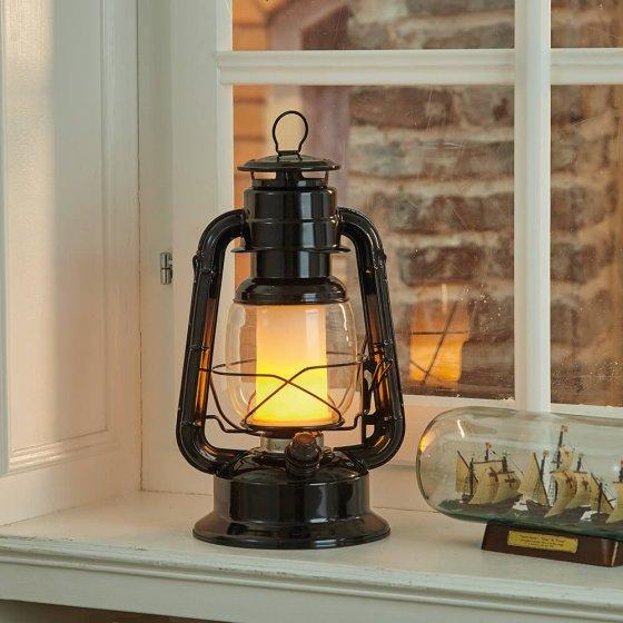 Stormlamp met vlameffect