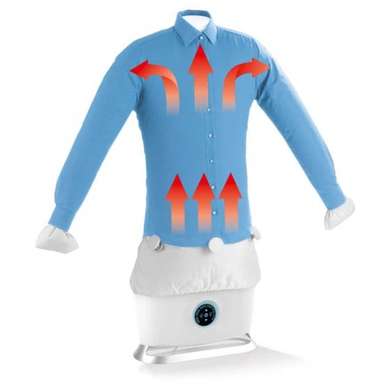 Strijkmachine voor overhemden en blouses