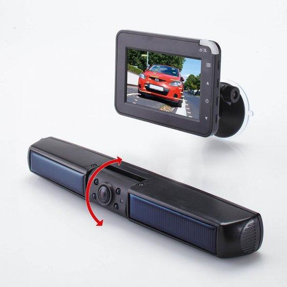 Draadloos solar-achteruitrij-camerasysteem