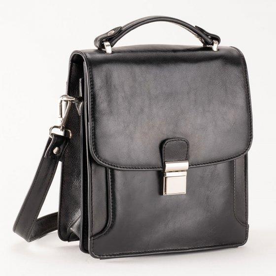 Rundleren tas voor heren met RFID