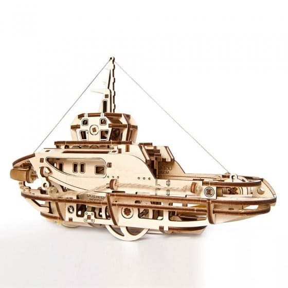 Houten model sleepschip
