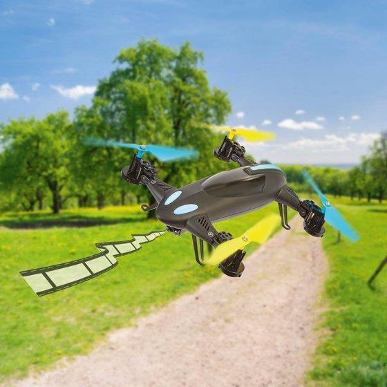 2-in-1-quadrocopter-voertuig met camera