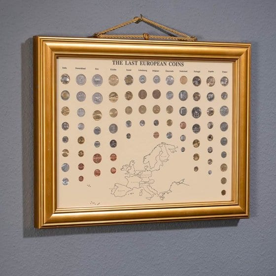 Muntenverzameling 'The Last European Coins'