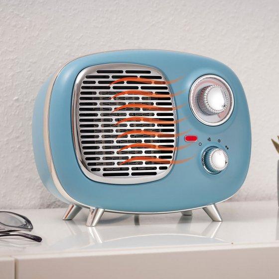 Keramische ventilatorkachel in retro-stijl