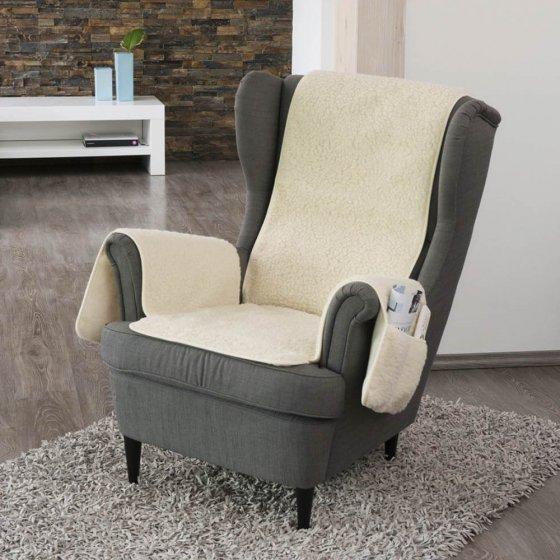 Voor een heerlijk zachte fauteuil!