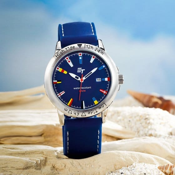 "Maritieme horloge  ""High Tide"""