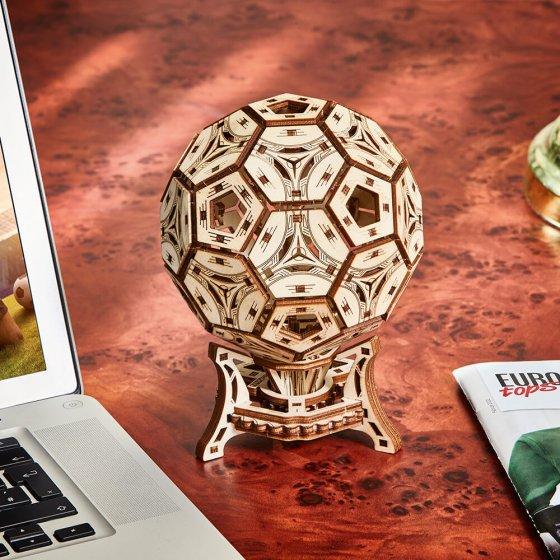 Houten model voetbalbokaal