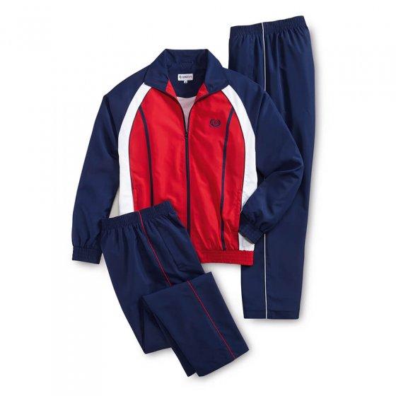 Vrijetijdspak met 2 broeken XXL | Marine#rood