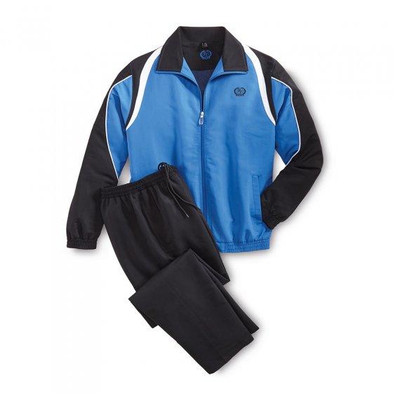 Microvezel-sportpak XXL | Blauw#Zwart