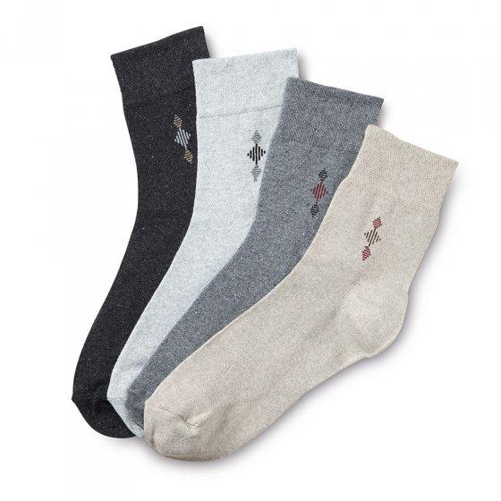 Korte sokken Set van 4