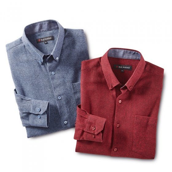 Modieus flanellen overhemd