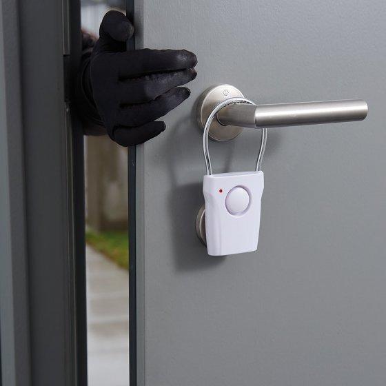 Elektronisch deurgreepalarm in set van 2