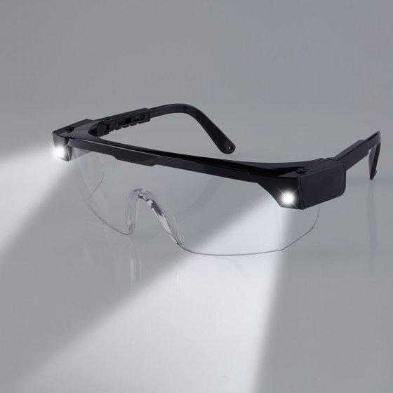 Beschermings-/werkbril met verlichting