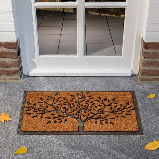 Levensboom-deurmat