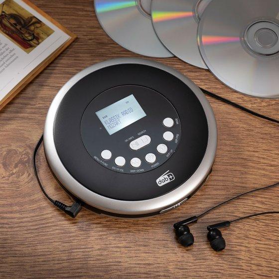 Draagbare DAB+/cd-speler