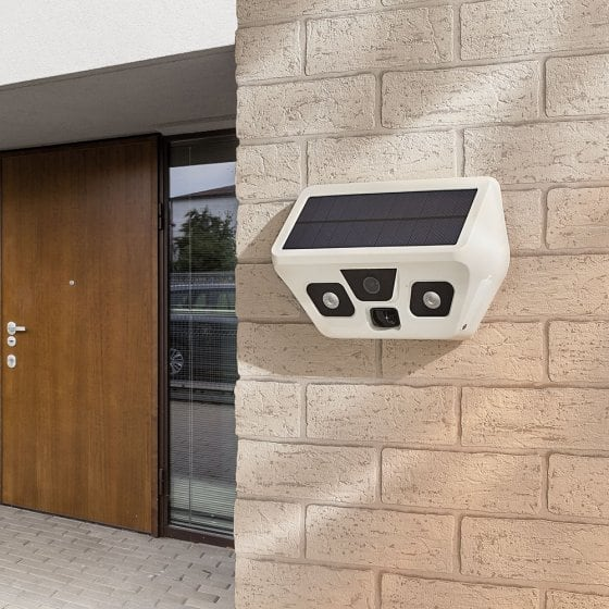 USB-buitencamera op zonne-energie