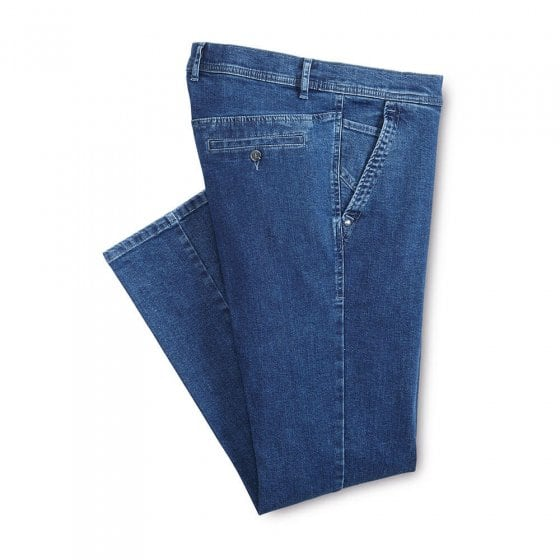 Jeans in chinostijl
